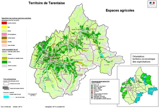 Tarentaise observatoire des territoires de la savoie - Office du tourisme de champagny en vanoise ...